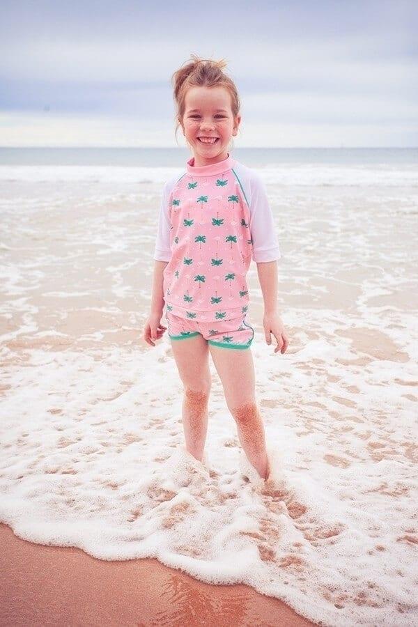 3153b630a0e8bc dwuczęściowy strój kąpielowy uv dla dziecka, kostium kąpielowy uv dla  dziewczynki ...