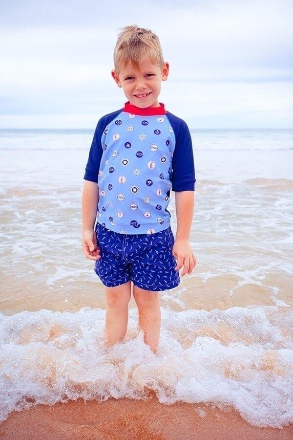 b828995230c49a dwuczęściowy zestaw kąpielowy z filtrem uv dla dziecka, dwuczęściowy  kostium kąpielowy z filtrem uv dla ...