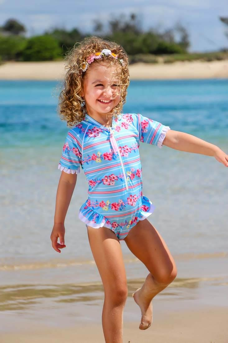 f81ec77779aec9 kostium kąpielowy dla dziewczynki, strój kąpielowy uv dla dziewczynki,  kombinezon uv dla dziewczynki ...